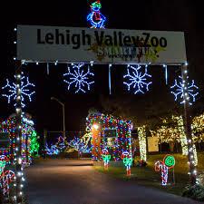 Lv Zoo Lights Winter Light Spectacular Lv Zoo Lehigh Valley Zoo