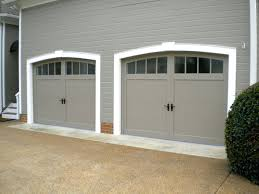 Exterior Carriage Style Garage Doors Costco Modern On Exterior Wood