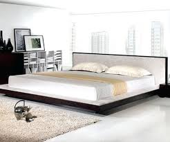 very low bed frame low profile platform bed frame low headboard beds ...