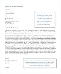 Cover Letter Format 17 Free Word Pdf Documents Download