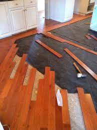 wood flooring over tile designs