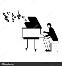 debussy playing piano wiring diagram database man playing classical piano instrument