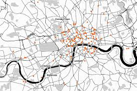 research open data means business open data institute figure 1 2 map showing the location of 139 london based open data companies determined by main trading address where available otherwise by registered