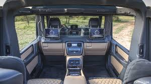 However, the interior's space is literally an even bigger deal. 2018 Mercedes Maybach G 650 Landaulet Interior Hd Wallpaper 17