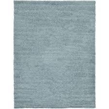 unique loom solid light slate blue 7 x 10 rug 3127975 the home depot