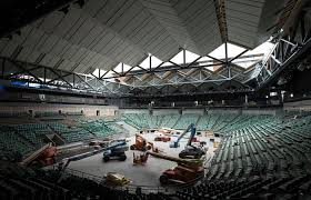 australian open roof new look for australian open 2014 2 october 2013 all news