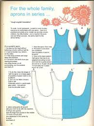 Cross Back Apron Pattern