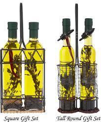 oil vinegar gift sets from hongar farms