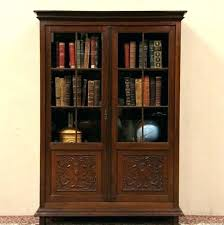 bookshelves with glass doors antique bookcase with glass door interior antique bookshelves with glass doors best