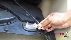 Cabin air filter replacement- Mercedes-Benz C320 (Under Glovebox ...