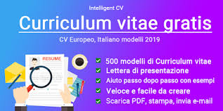 Give your cv format a professional look in my free online cv builder. Curriculum Vitae Gratis 2021 Cv Europeo Italiano App Su Google Play