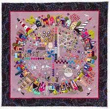 garden quilt. Wendy Williams Round The Garden Quilt Pattern