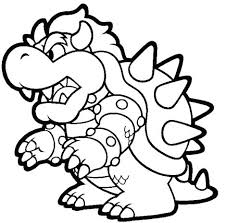 Super Mario Odyssey Coloring Pages Jokingartcom