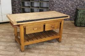 Vintage Kitchen Island Work Bench Table ...