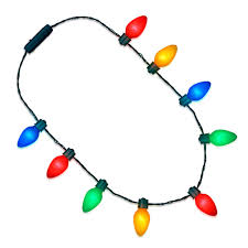 Light Up Christmas Necklaces Amazon Com Flashingblinkylights Light Up Christmas String