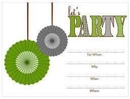 Free Birthday Invitations 17 Free Printable Birthday Invitations