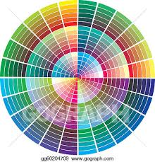 Eps Illustration Vector Color Palette Vector Clipart