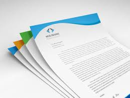 Free In Design Corporate Letterhead Design Free Download On Behance