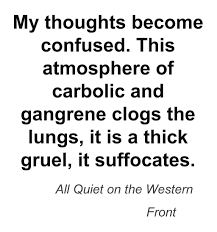 a quote from all quiet on the western front this quote a quote from all quiet on the western front this quote illustrates how one s body