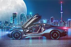 free images office building sd asphalt sea water boy guy neon glasses tower lights big moon luminescence bmw bmw i8 photo