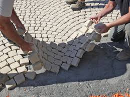 how to lay stones for your patio