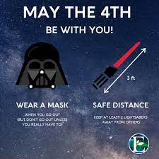 May the 4th Be With You! Remember ...