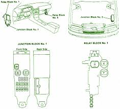 1990 lexus es250 fuse box diagram 1990 wiring diagrams online