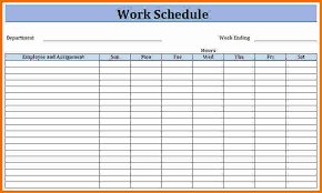 employee schedules templates work schedule military bralicious co