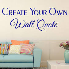 Small Picture Wall Decoration Wall Sticker Quotes Custom Lovely Home