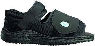 Complete Medical Darco Med Surg Shoe Black Square Toe Mens Large 0 75 Pound