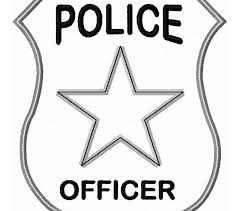 Small Picture Pictures Police Badge Outline 13 On For Kids with Police Badge