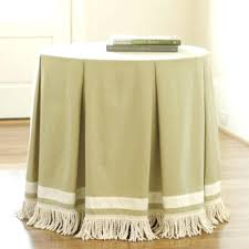 small round tablecloth sizes