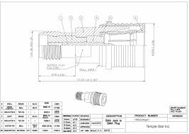 high quality sma conectors & kabels meet mil c 39012 spec Male Plug Diagram qma (snap on sma) connector series 110 male plug wiring diagram