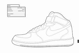 Jordan Shoes Coloring Pages Luxury Fantastic Converse Contemporary