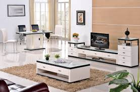 grade stainless steel paint glass coffee table cabinet living room furniture fashion personality modern dining drawers bedroom small sitting doors
