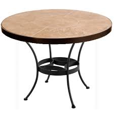 ow lee 60 inch round tile top dining table