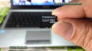 Micro SDHC TRANSCEND 32Gb class 10 - Thẻ Nhớ Minh Hằng .com - Godlike