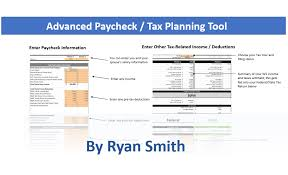 State Of California Paycheck Calculator Advanced Paycheck Tax Calculator By Ryan Smith Soothsawyer