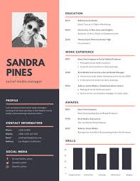 Modern Resume Templete Simple Blue Modern Resume Templates By Canva