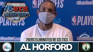Al Horford Post Game Interview losing ...