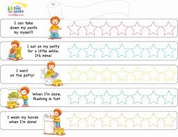 Potty Training Chart For Girls Potty Chart For Toddlers Bkperennials