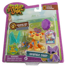 Animal Jam Toys Light Up Ring Details About Animal Jam Sparkle Tiger With Light Up Ring Toy 16832
