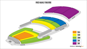 Shen Yun Seating Chart Thousand Oaks The Fred Kavli Theatre Seating Chart English