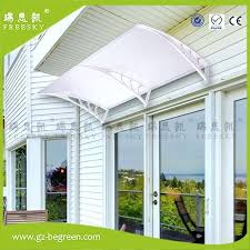 diy polycarbonate awning door canopy window awning door awnings clear roof cover sheet patio diy polycarbonate