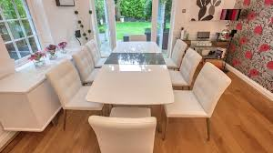 white extending dining table and chairs astonishing dining room designs also outstanding modern white high