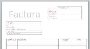 Formatos De Factura