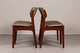 used dining room sets unique mid century od 49 teak dining chairs by