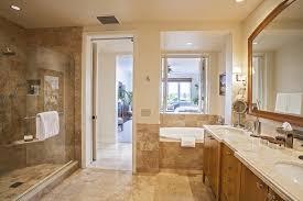 master bedroom closet and bathroom design photo 1