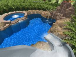 backyard pool with slides. Uncategorized Rock Pool Slides For Inground Pools The Best Small Backyards Swimming Specials Houston Backyard With A