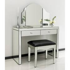 mirrored dressing table. romano crystal mirrored dressing table set o
